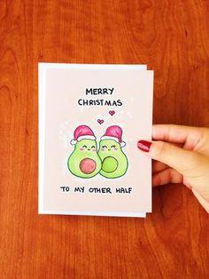 Lustige Weihnachten Karte lustig lustige Ferien von LoveNCreativity