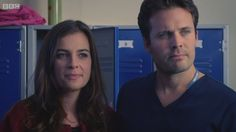 Zosia March & Oliver Valentine in Holby City Holby City, Queen Love, Television Program, Hospitals, Present Day, Camilla, Cute Couples, Love Her, The Past