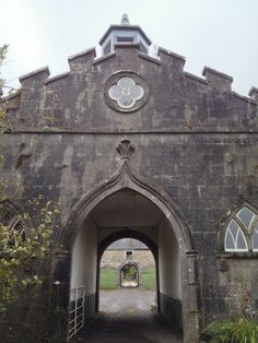 The Stables at Slane Castle, Co. Meath, design by Capability Brown