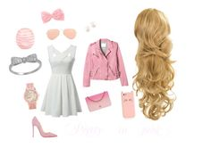 """""""Pretty in pink"""" by syd-stevens ❤ liked on Polyvore"""