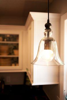 pendant light from Potttery Barn