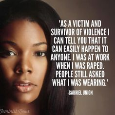 Gabrielle Union on her sexual assault
