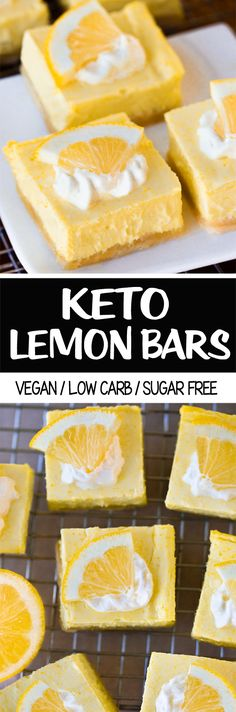 The Best Keto Snack Lemon Bar Recipe Low Carb