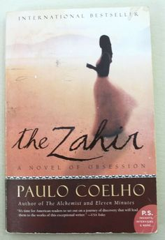 The Zahir By Paulo Coelho Softcover Book Eleven Minutes, Best Sellers, Discovery, Insight, It Works, Interview, Author, Store, Books