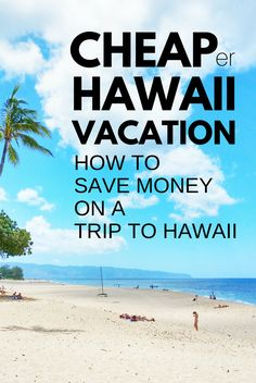 How to save money on Hawaii vacation, trip to Hawaii, cost. Things to do in Hawaii on a budget - Oahu, Maui, Kauai, Big Island, save money. Beaches, snorkeling, hiking ideas! What you pack and wear adds cost for your Hawaii packing list but find cheap (er) flights, hotels (airbnb vacation rentals), food, free activities without gift shopping. ;) Prices for planning USA bucket list destination! Budget travel tips on Hawaiian islands. #hawaii #oahu #maui #kauai #bigisland…