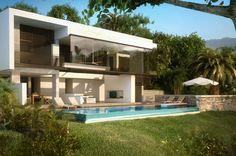 Dream Holiday Home, VILLA MHF, Villeta, Colombia, designed by Santiago Murcia