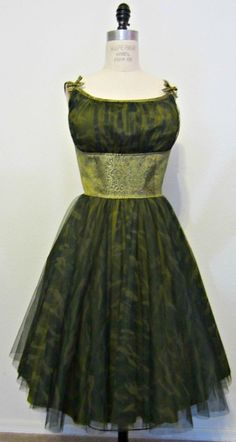 Fifties style Camouflage dress. www.theproperdress.com
