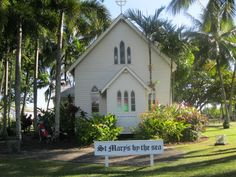 St Mary's by the Sea is a pretty little church at Port Douglas, Far North Queensland.