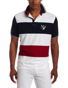 Nautica Men's Golf Coast Short Sleeve Polo Shirt