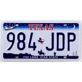 Reproduction de plaque américaine d'immatriculation ( license plate ) : TEXAS The Lone Star State