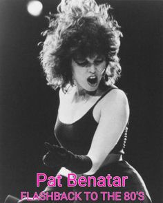 Listen to music from Pat Benatar like Hit Me With Your Best Shot, Love Is a Battlefield & more. Find the latest tracks, albums, and images from Pat Benatar. Pat Benatar, 80s Music, Music Icon, Rock Music, Rock Girls, Jazz, Rock Roll, Women Of Rock, Women In Music
