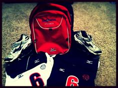 #4 Snap a picture of something Mizuno. My Club uniform and equipment! #USAVolleyballPinItToWinIt