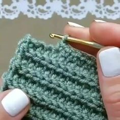 Best 12 How to knit Tunisian Crochet Stitch video tutorial – SkillOfKing. Crochet Stitches Patterns, Knitting Stitches, Hand Knitting, Knitting Patterns, Double Crochet, Crochet Baby, Knit Crochet, Crochet Shawl, Single Crochet