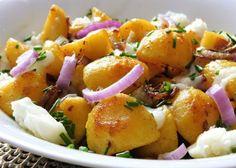Bramborová pánev s brynzou a slaninou :: Tipy na Výlety a zábava Potato Salad, Potatoes, Ethnic Recipes, Food, Potato, Essen, Meals, Yemek, Eten