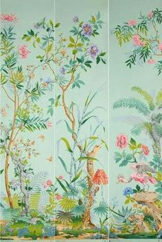 papiers peints chinoiseries coutau b garie eloge de. Black Bedroom Furniture Sets. Home Design Ideas