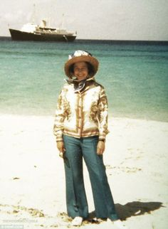 The Queen as just another tourist. http://www.pinterest.com/cgest08/royal-yacht-britannia/