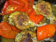 Kuchnia Betti: Nogi kurczaka z papryką