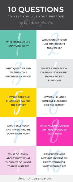 10 Questions to Help You Live Your Purpose. Journal prompts for self discovery. These questions are great for delving a little deeper into your purpose and goals! Live For Yourself, Finding Yourself, Coaching Personal, Life Coaching, Life Purpose, Purpose Quotes, Best Self, Self Development, Personal Development