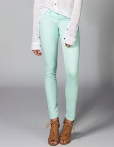 Rsq Miami Womens Jeggings Mint In Sizes from Tilly's.