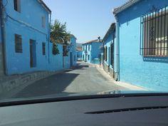 Júzcar ( Malaga ) Pueblo Pitufo