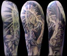 Religious Tattoos angel