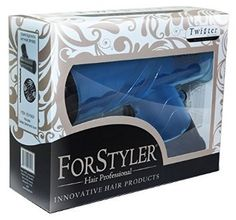 ForStyler Hair Twister, Blue, 13.5 Ounce