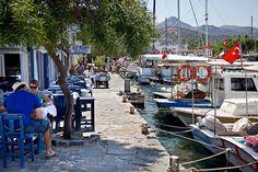 Yalikavak port in Turkey