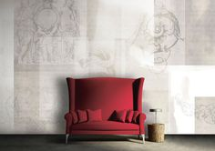 Blank  // Pop Wall Covering   Illusions Collections by Glamora