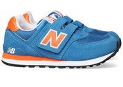 Blauwe New Balance kinderschoenen 574 sneakers