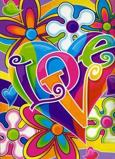 ✪☯☮ॐ American Hippie Psychedelic Art - Lisa Frank Hippie Peace, Happy Hippie, Peace Love Happiness, Peace And Love, Graffiti Kunst, Pop Art, Arte Van Gogh, Feelin Groovy, Estilo Hippie