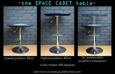 90% #upcycled & 100% multi functional the new SPACE CADET! #ecocreatehour  http://www.paulwhorlow.com/#!space-cadet/c3u3…
