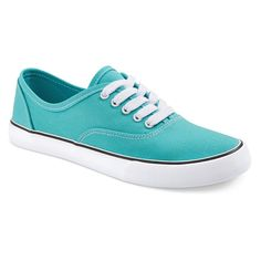 Women's Layla Canvas Sneakers - Turquoise 10