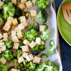 Roasted Broccoli, Tofu & Jalapeno : Tossed with soy sauce, these three ingredients are full of roasted flavor