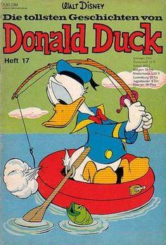 Fish - Water - Sky - Sea - Heft 17 Disney Posters, Disney Cartoons, Comic Book Covers, Comic Books, Pato Donald Y Daisy, New Ducktales, Donald Duck Comic, King Koopa, Fisher