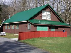 Here is the arts and crafts building. It looks calm and clean from the outside.but we all know what it is like on the inside :) Easter Seals, Shed, Arts And Crafts, Photos, Pictures, Calm, Camping, Outdoor Structures, Photo And Video