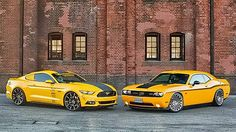 Ford Mustang vs. Dodge Challenger - which do you choose?