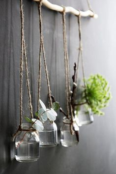 10 ways to decorate with branches — kate young : 10 ways to decorate with branches and give your home a rustic and boho vibe. 10 ways to decorate with branches and give your home a rustic and boho vibe on a budget Tree Branch Decor, Tree Branches, Branch Art, Handmade Home Decor, Diy Home Decor, Boho Dekor, Decoration Plante, Deco Floral, Diy Décoration