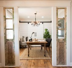 Magnolia Market Chip and Joanna Gaines Fixer Upper their carriage house love this house office Ward house House Design, House, Magnolia Homes, Interior, Home, Home Furniture, Home Remodeling, Fixer Upper, House Interior