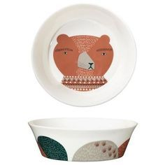 Donna Wilson daddy bear ceramic bowl - large. Gorgeous gift for Father's Day! Birdkids | £25.00