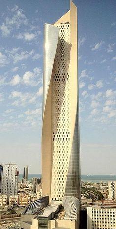 Alhamra Tower, Kuwait City -