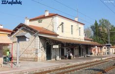 Old Trains, Going Away, Greece, To Go, Street View, Cabin, Mansions, House Styles, Train Stations