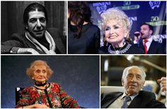 There were several notable deaths in 2016 — including these dozen Jewish men and women from all walks of life.