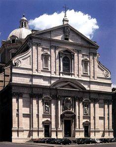 Igreja de Jesus, Roma - Arquitetura Barroca.