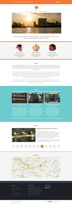 A clean and modern website template for  Simplepage. Perfect for you and your business. Produced by simonantony.net