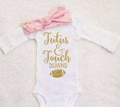 Baby girl clothes Gold glitter Shirt by TrendyBabyClothesnco