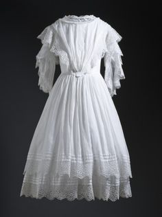 Girl's Dress 1850s The Los Angeles County Museum of Art