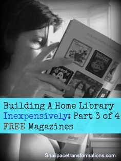 Where to get FREE magazines.