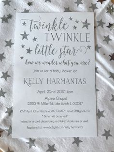 Rustic Twinkle Star Gender Reveal Baby Shower on KARA'S PARTY IDEAS | KarasPartyIdeas.com (11)