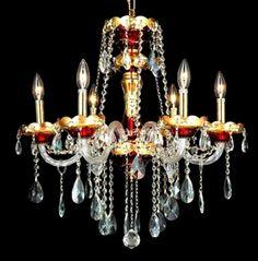 Show details for Elegant Lighting 7810D24G/EC Chandeliers Alexandria