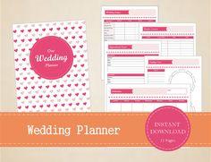 Wedding Planner  Wedding Binder  Printable by MBucherConsulting